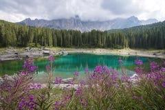 Jezioro w górze Fotografia Stock