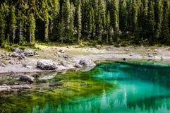 Jezioro w górze Obraz Stock