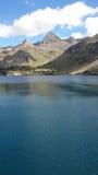 Jezioro w górze obraz royalty free