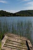 Jezioro w Gelendzhik Krasnodar region Rosja 21 05 2016 Obrazy Stock