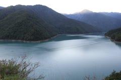 Jezioro w Gruzja Obraz Stock