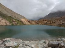 Jezioro w Jammu Zdjęcia Stock