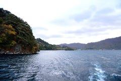 Jezioro w jesieni Obraz Royalty Free