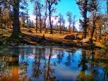 Jezioro w jijel Zdjęcie Royalty Free