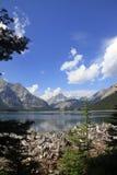 Jezioro w Kananaskis kraju Alberta, Kanada - Obrazy Royalty Free