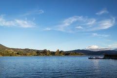 Jezioro w Kolumbia fotografia royalty free