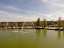 Jezioro W Madryt zdjęcia royalty free