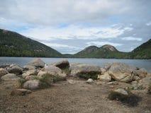 Jezioro w Maine Obraz Stock