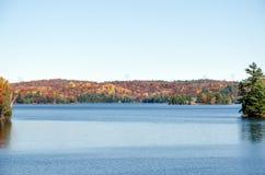 Jezioro w Muskoka Obraz Royalty Free