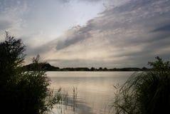 Jezioro w Północnym Niemcy Fotografia Stock