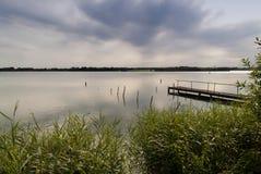Jezioro w Północnym Niemcy Fotografia Royalty Free