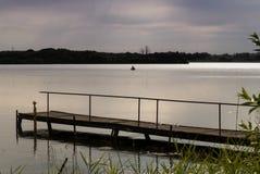 Jezioro w Północnym Niemcy Zdjęcia Stock