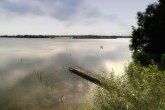 Jezioro w Północnym Niemcy Zdjęcia Royalty Free