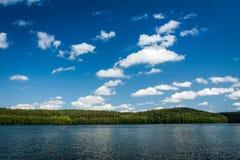 Jezioro w park narodowy zdjęcie stock