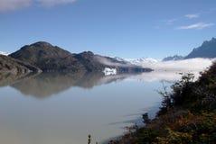 Jezioro w Patagonia fotografia royalty free
