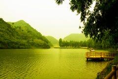 Jezioro w porcelanie Zdjęcie Royalty Free