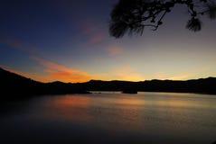 Jezioro w ranku, Yunnan, porcelana, åœ¨äº «å  —, ä¸å› ½ zdjęcie royalty free