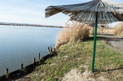 Jezioro w rezerwacie przyrody Zdjęcie Stock