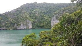 Jezioro w Tajlandia zbiory wideo