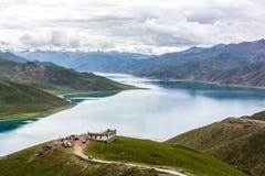 Jezioro w Tebit Fotografia Royalty Free