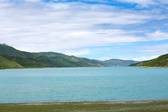 Jezioro w Tebit Zdjęcie Royalty Free