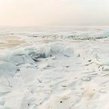 Jezioro w zimie Obraz Royalty Free