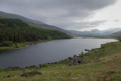 jezioro Wales zdjęcie royalty free