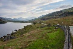 jezioro Wales Zdjęcie Stock