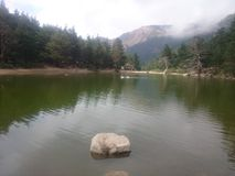 Jezioro widoki Fotografia Royalty Free