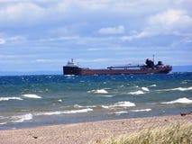 jezioro wietrzny Obrazy Royalty Free