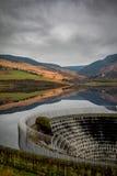 Jezioro z wody ucieczką Obraz Royalty Free