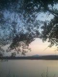 Jezioro, Zagreb Obraz Stock