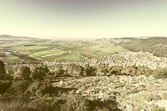 Jezreel-Tal in Israel Stockfotos