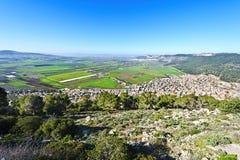 Jezreel-Tal in Israel Lizenzfreie Stockfotografie