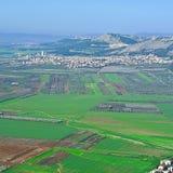 Jezreel-Tal in Israel Stockfotografie