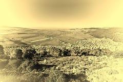 Jezreel-Tal in Israel Lizenzfreies Stockfoto