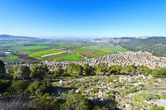 Jezreel  Valley in Israel Royalty Free Stock Photography