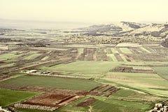 Jezreel  Valley in Israel Royalty Free Stock Photos
