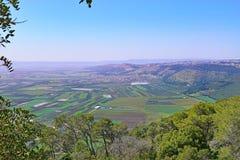 Jezreel Valley, Lower Galilee, Israel Royalty Free Stock Image