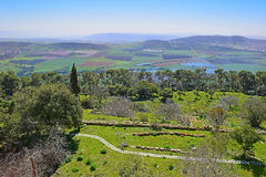 Jezreel Valley, Lower Galilee, Israel Stock Photos