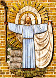 Jezus Chrystus baca Obrazy Royalty Free