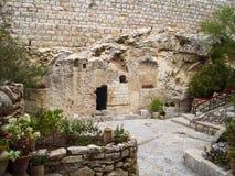 Jezus Chrystus grobowiec Fotografia Royalty Free