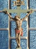 Jezus Chrystus INRI Fotografia Royalty Free