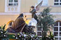 Jezus Chrystus na sadzie Fotografia Royalty Free