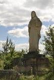 Jezus Chrystus statua w łupie Jozefow Polska Obrazy Royalty Free