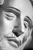 Jezus Chrystus statuy zbliżenie Zdjęcia Stock