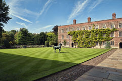 Jezus College, Cambridge. Stock Photo