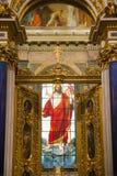 Jezus w koronie Obraz Royalty Free