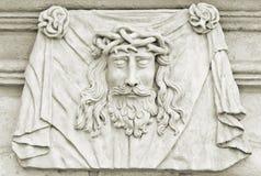 Jezusowa Pamiątkowa plakieta Zdjęcia Royalty Free