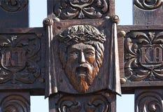 Jezusowa rzeźba fotografia royalty free